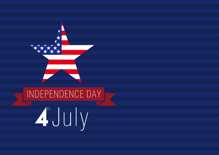 independence day USA card