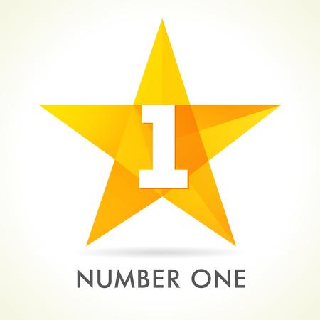 Nombre signe une étoile