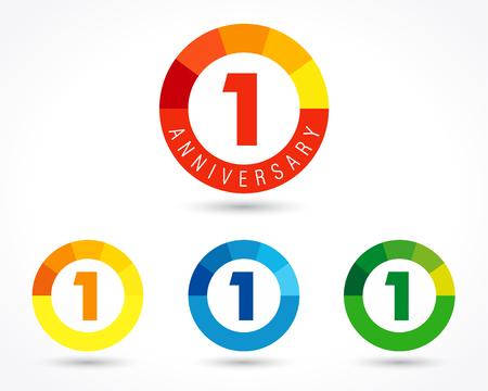 year: 1 year anniversary chart