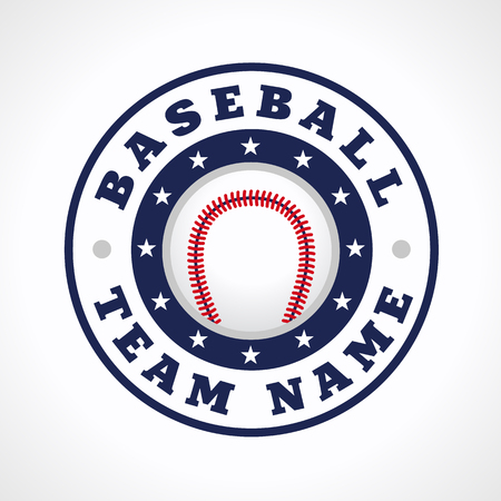 Baseball Vector Logo Branding Symbol Of Teams National