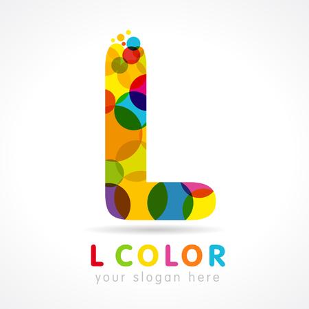 Letter L logotype. Logo