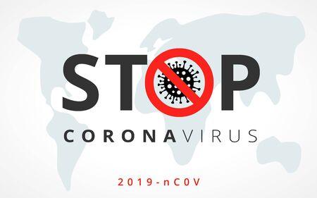 China and Europe battles Coronavirus outbreak. Coronavirus 2019-nC0V Outbreak, Travel Alert concept. The virus attacks the respiratory tract, pandemic medical health risk. Vector illustration