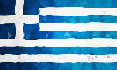 polly: Greece high polly flag