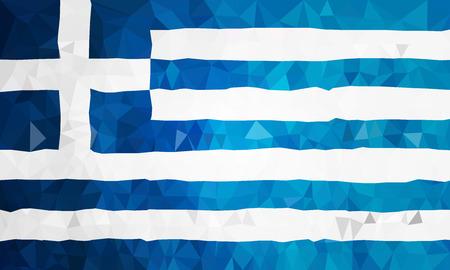 polly: Greece high polly flag