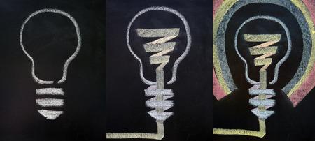 Illustration of thinking process illustration