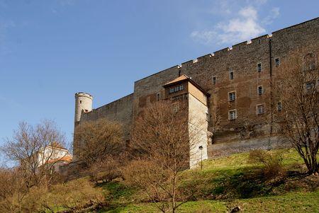 Mauern der alten Stadt