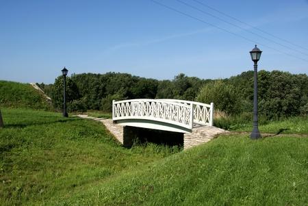 Die alte Br�cke im S�den von Estland Viljandi Lizenzfreie Bilder
