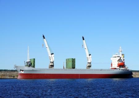 Die Frachtschiff Kosten an einem Liegeplatz