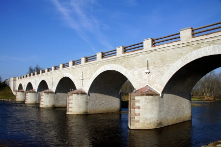 The old bridge in the east of Estonia