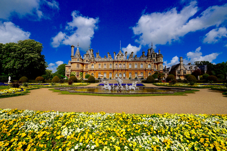 Waddesdon manor country house Buckinghamshire UK Imagens