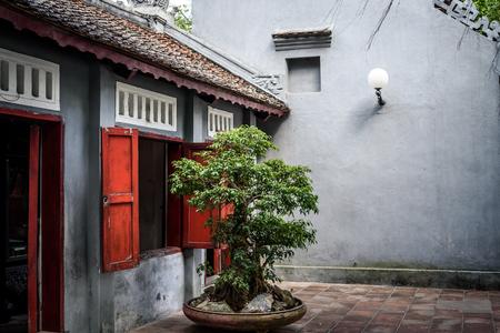 Temple Hanoi Vietnam