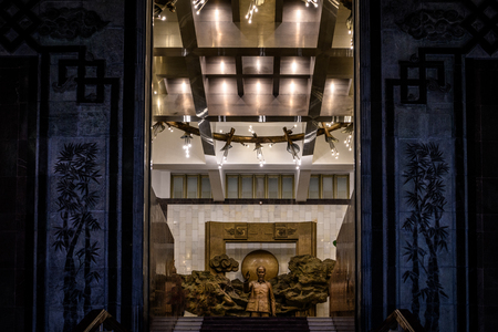 Ho Chi Minh Museum Hanoi Vietnam Imagens