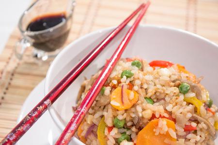 nip: Vegetarian Fried rice - chinese food