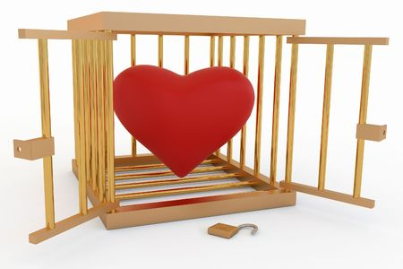 Heart in a Cage photo