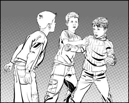 Hooligan boys. Teen Boys In Fist Fight. Fighting boys.