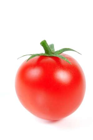 Tomato on white background Stock Photo - 9043663
