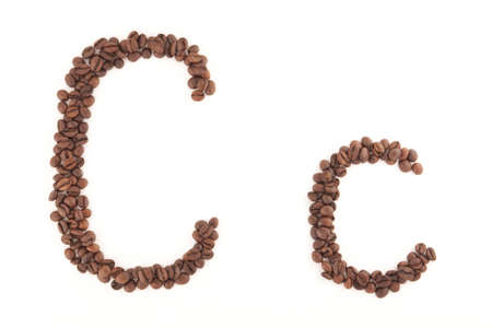The letter C photo