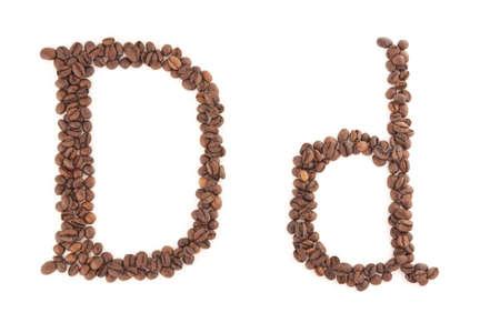 alfabet: The letter D