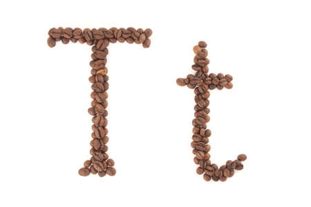 The letter T photo