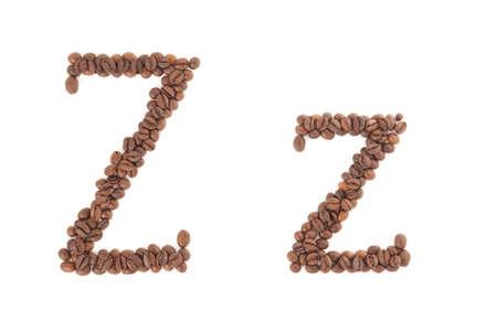 alfabet: The letter Z
