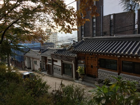 Korean national home is located in the city center Editorial