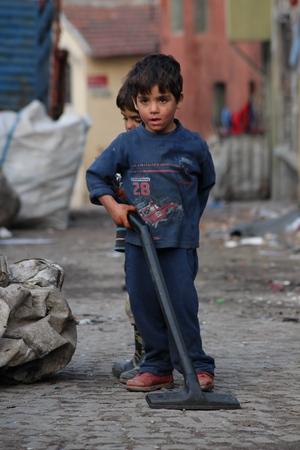 Syryjski: Syryjskie dzieci mieszkających w Stambule