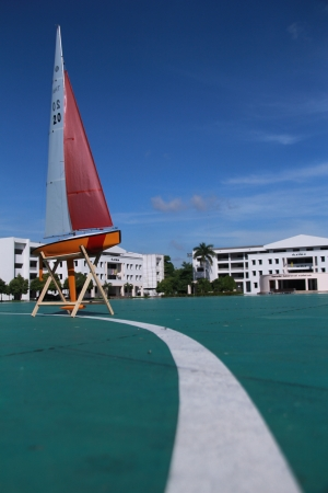 batallon: Barco en el Batall�n de la escuela