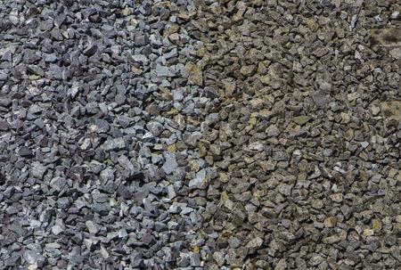 ballast: 2 color ballast Stock Photo