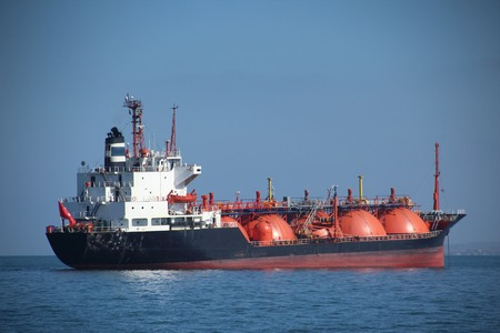 tanker ship: fuel tanker