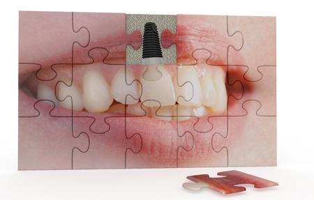 funny dentistry Stock Photo