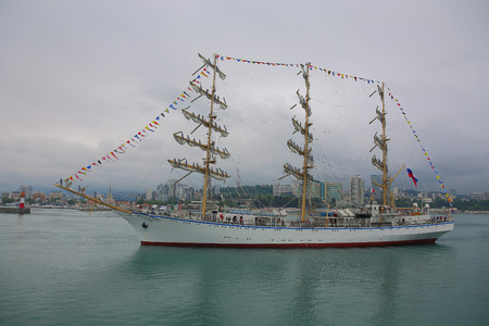 tripping: beautiful sailing ship