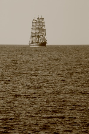 tripping: beautiful old sailing ship