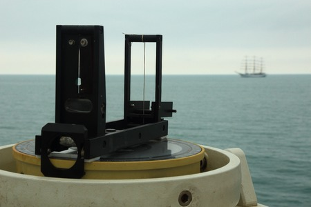 bowsprit: navigation equipment ship