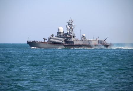 menace: Russian missile boat in the combat campaign