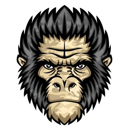 Ape head