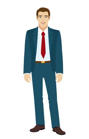 businessman standing: Businessman standing.