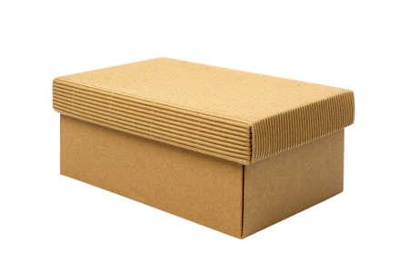 Empty Box Isolated