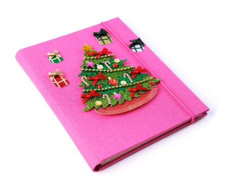 chrismas book  Stock Photo