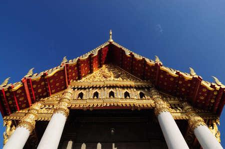 Wat Benchamabopit Temple at Bangkok Thailand