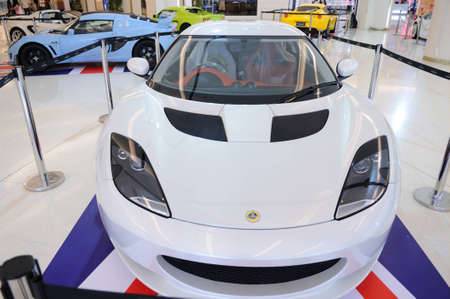 BANGKOK, THAILAND - NOV 17: Super Car showroom at SIAM PARAGON
