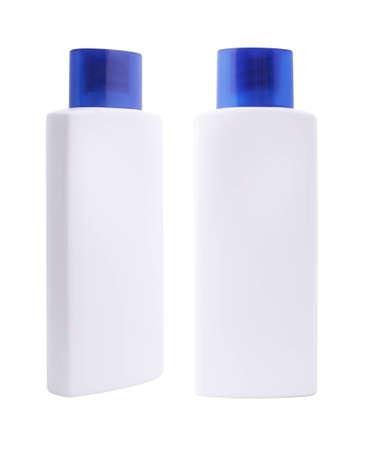 blank bottles  Stock Photo