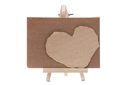 heart notepad paper