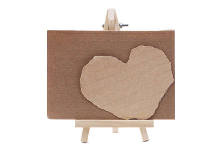 heart notepad paper