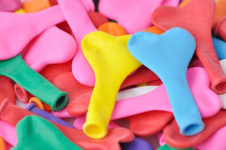 Colorful Heart Shape Balloons.  Stock Photo - 12135402