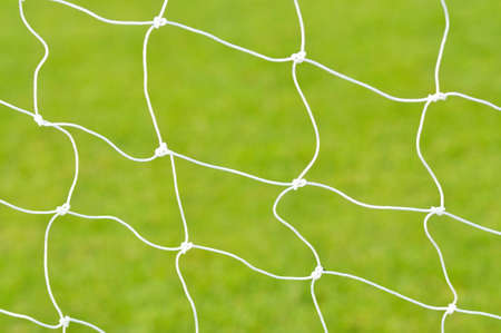 Soccer goal net  Stock Photo