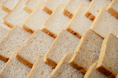 Bread slice background