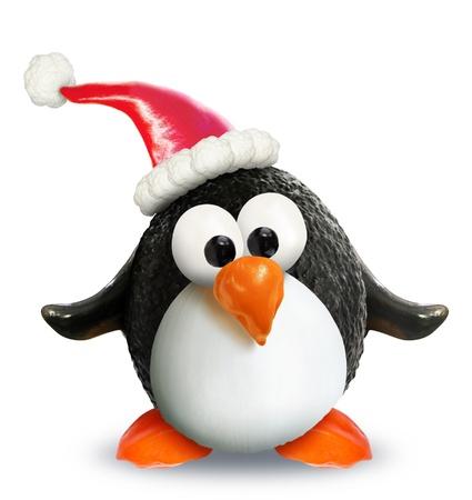 VeggieFruit Christmas Penguin