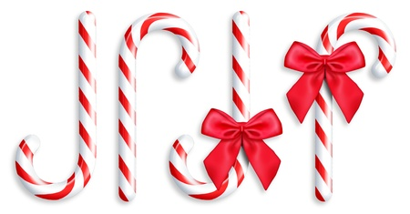 Illustrated Candy Canes Stock Photo - 14963867
