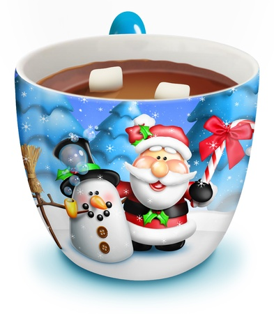 Christmas Cup of Hot Chocolate photo