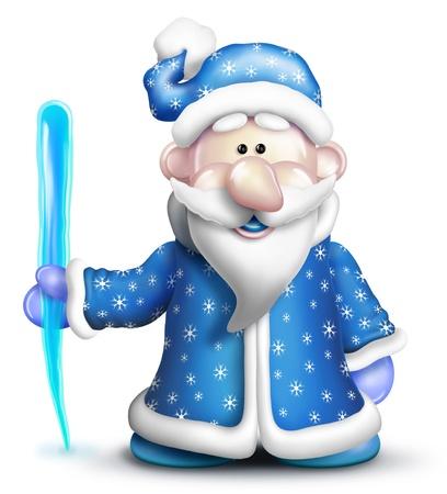 Imágenes graciosas de dibujos animados Jack Frost Foto de archivo - 14963852